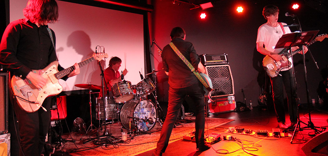 The Thurston Moore Band performing at 3S Artspace on Aug. 3, 2015. (Mark Lefebvre)