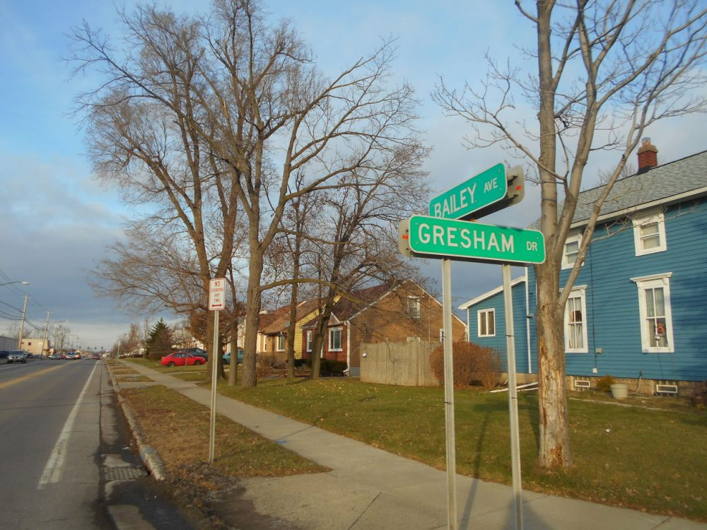 Simon Singer reports on the rates of juvenile crime, which are just as high in the suburbs as in urban areas. His research focused on a suburb in upstate New York, like this one. (Flikr / Adam Moss)
