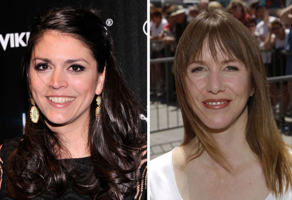 Cecily Strong (left) is a current member of Saturday night live, and Laraine Newman (right) was an original cast member. (Stephen Lovekin and Vince Bucci/Getty Images)