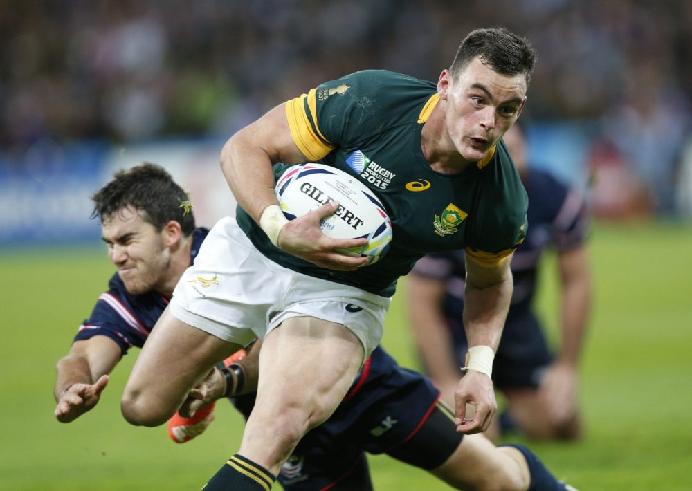 South Africa trounced the U.S. at the Rugby World Cup in England on Wednesday. Still, the Wall Street Journal's Matthew Futterman thinks Americans should be tuning in. (Christophe Ena/AP)