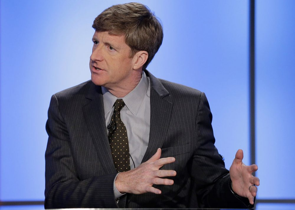 "Former Rhode Island Congressman Patrick J. Kennedy visits FOX News' ""America's Newsroom"" at FOX Studios on October 6, 2015 in New York City.  (John Lamparski/Getty Images)"