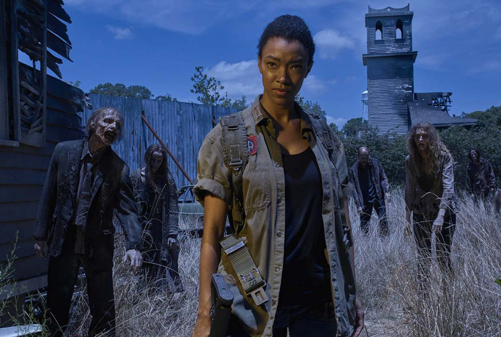 "Actress Sonequa Martin Green plays Sasha in ""The Walking Dead"" season 6.  (Frank Ockenfels 3/AMC)"