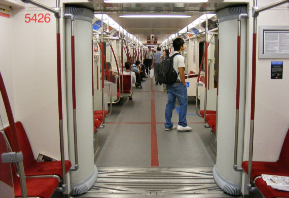 "Toronto has been using ""open gangway"" trains since 2011. (Sean_Marshall/Flickr)"