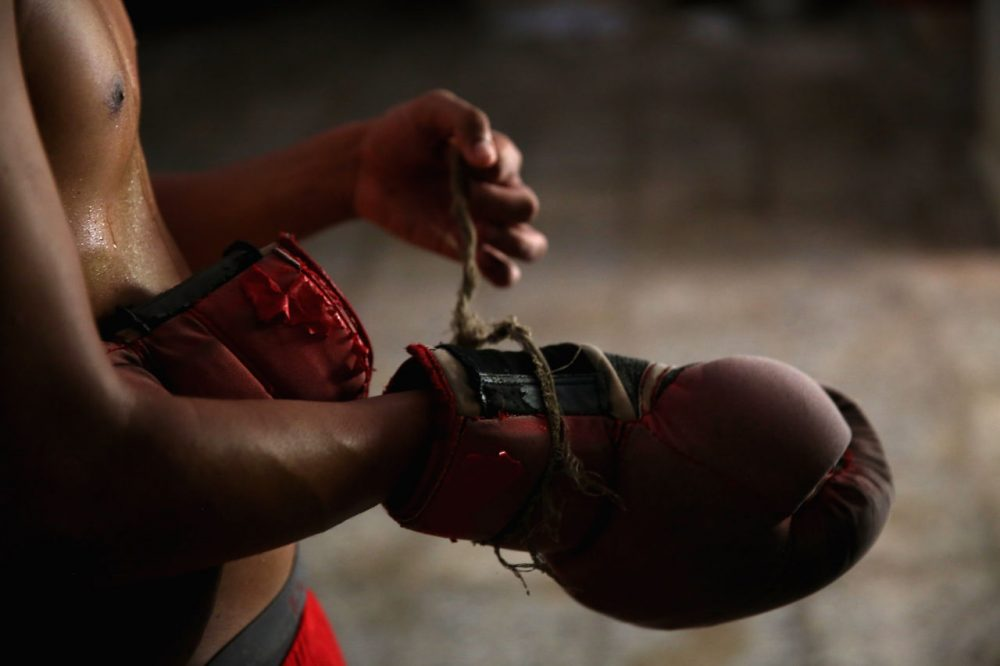 For many Cuban boxers, living under the Castro government has meant foregoing the possibility of international success. (Ezra Shaw/Getty Images)