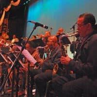 The John Coltrane Memorial Concert Ensemble. (Bruce T. Hamilton)