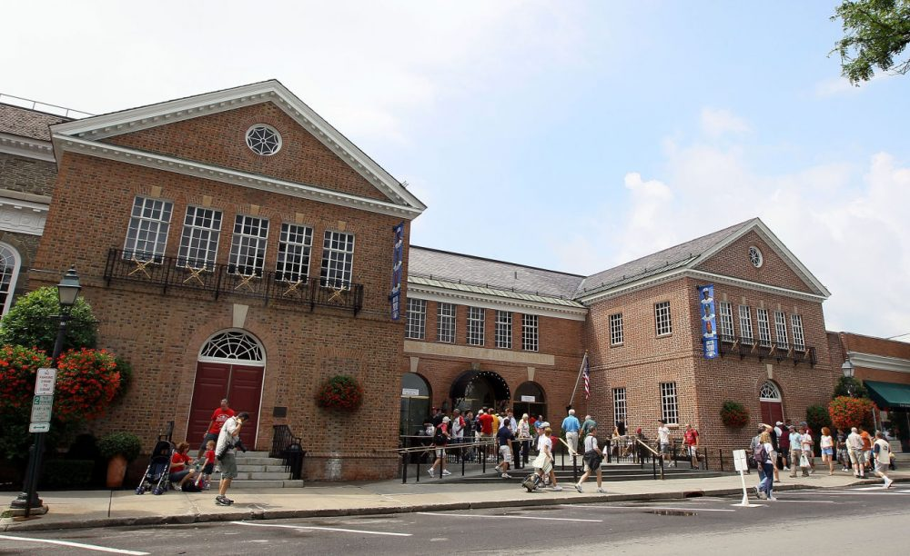 Bill Littlefield remembers taking trips to The Baseball Hall of Fame in Cooperstown, New York. (Jim McIsaac/Getty Images)