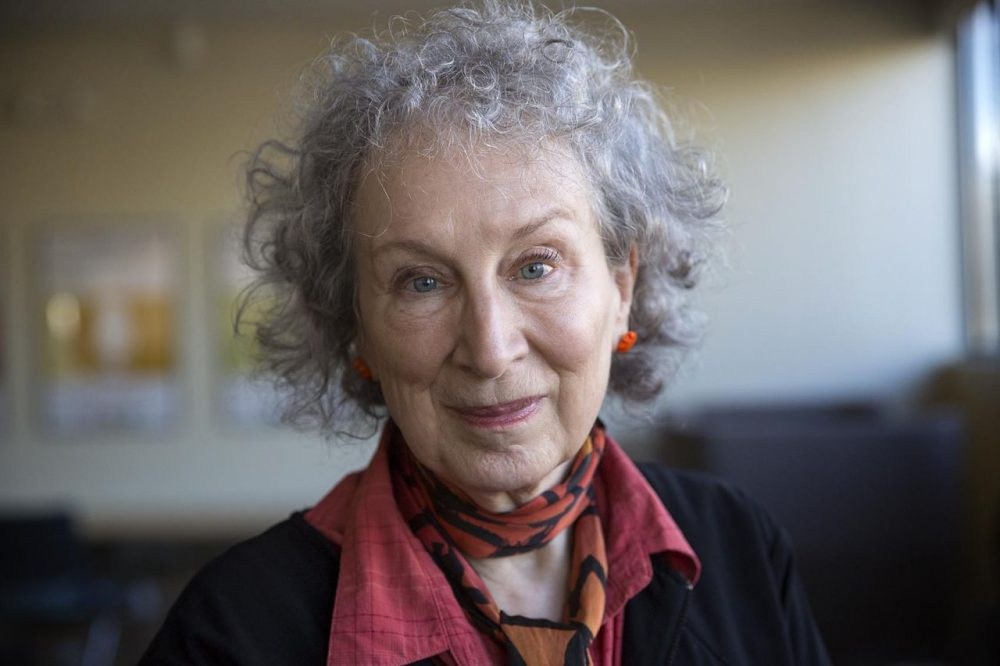 Margaret Atwood will deliver the Kickoff Keynote at this year's Boston Book Festival. (Robin Lubbock/WBUR).