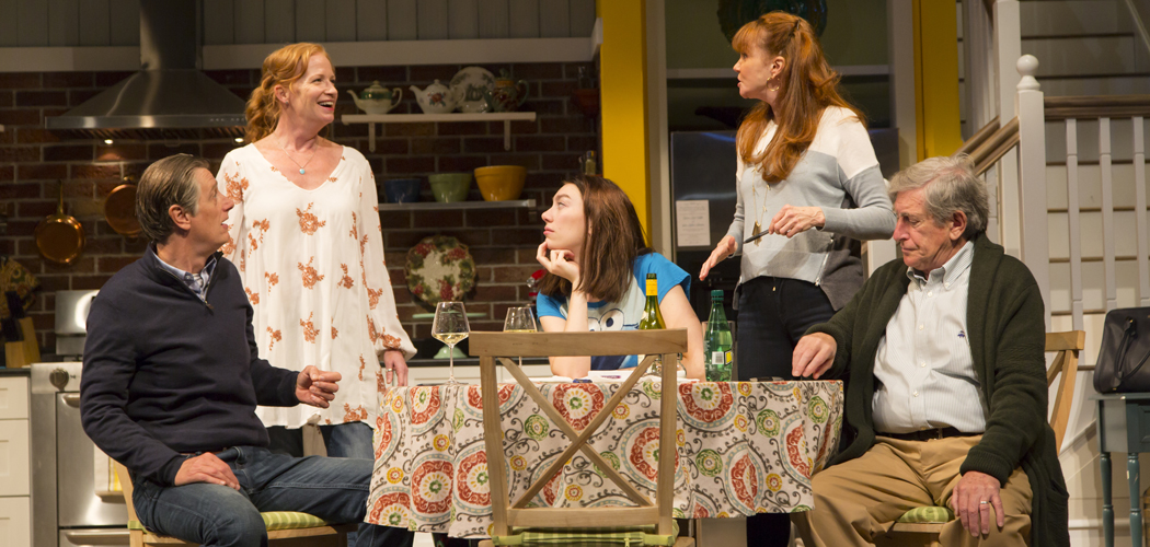 """The cast of """"Choice"""" at the Huntington Theatre Company. (T. Charles Erickson Photography)"""