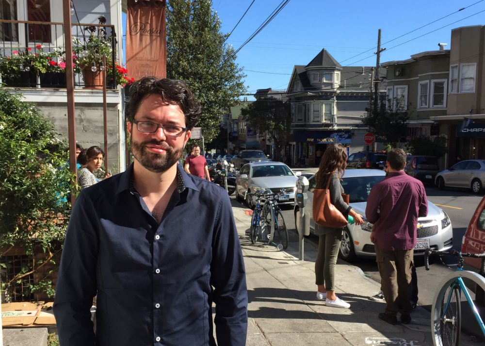 Reed Martin is running for mayor of San Francisco as an independent. In high school, he was <em>Here &amp; Now</em> host Jeremy Hobson's debate partner. (Jeremy Hobson)