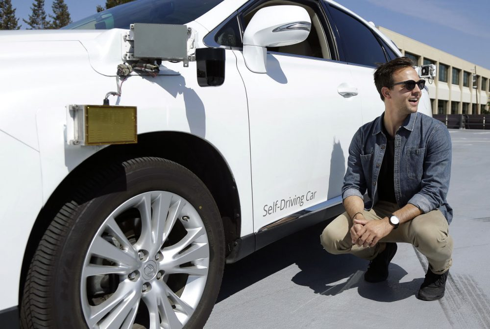Google is developing a self-driving car, but David Mindell argues humans will always be a necessary part. (Jeff Chiu/AP)