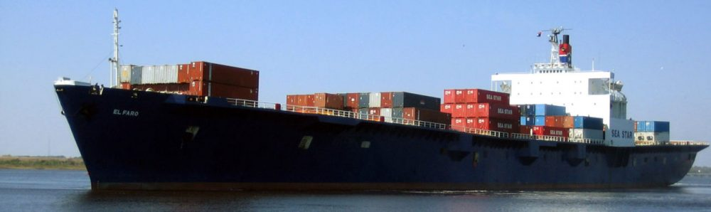The Coast Guard announced Monday, Oct. 5, 2015 that the El Faro has been lost. They are still searching for survivors. (TOTE Maritime via AP)