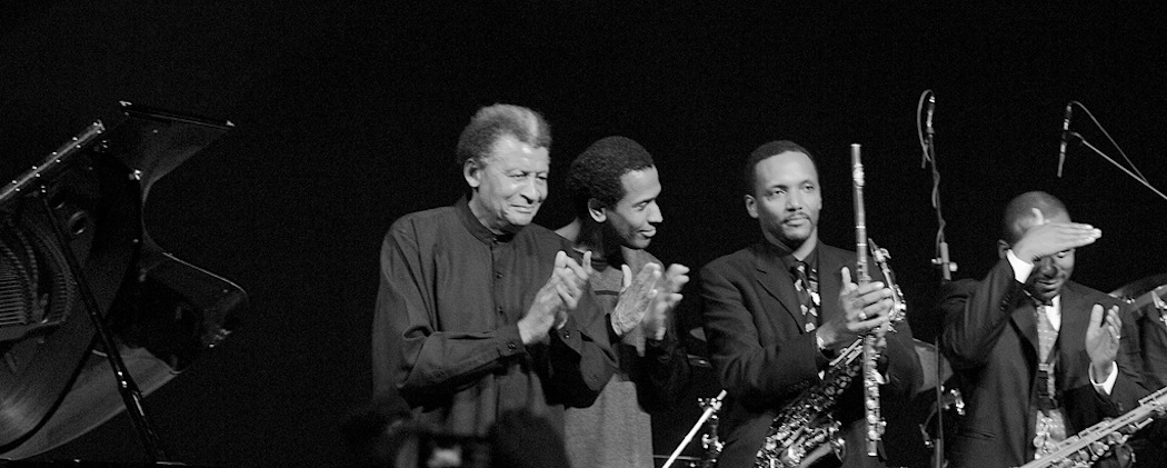 Abdullah Ibrahim (left) and Ekaya. (Victor Diamini/Flickr)