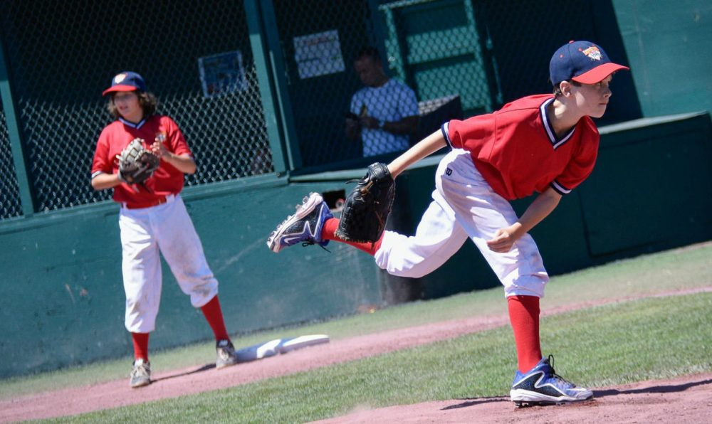 Ted Flanagan's son Kevan plays for the Lions. The Lions faced 103 other teams during a Cooperstown tournament. (Alex Belisle)