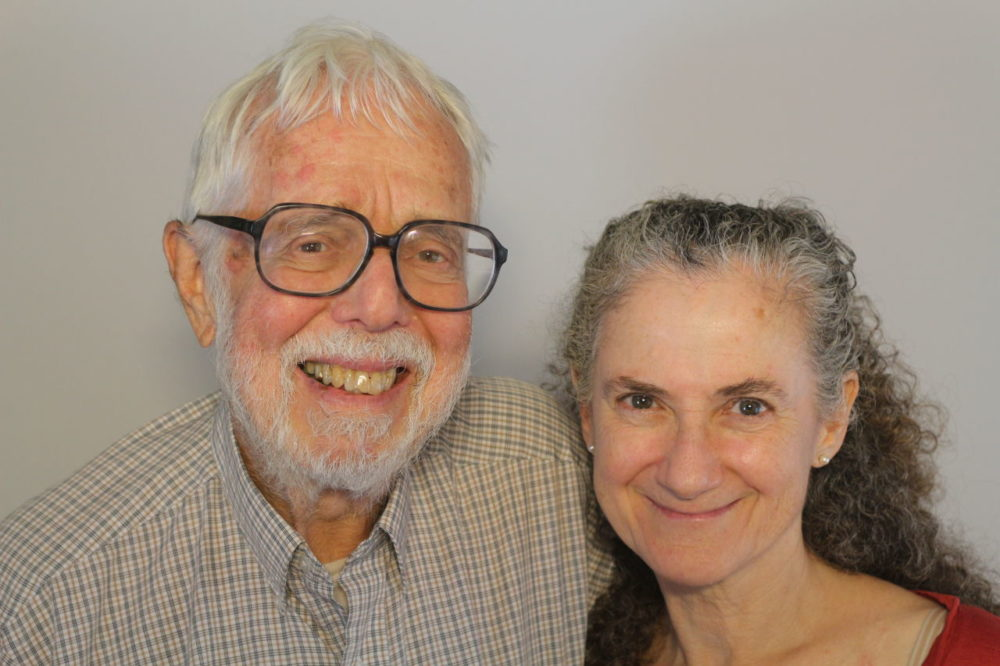 Harvard Divinity School colleagues Harvey Cox, left, and Ann Braude (StoryCorps)