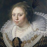 Ermgard Elisabeth van Dorth, by Paulus Moreelse, 1624 (Courtesy MFA Boston)