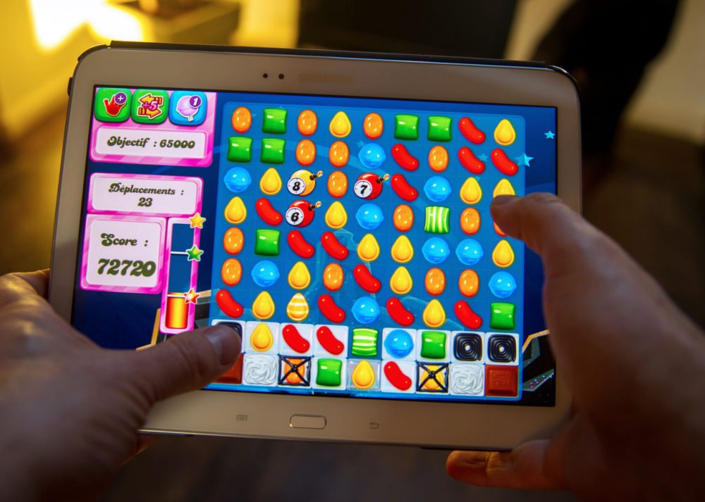 Candy Crush was developed by British King Digital Entertainment. (Philippe Huguen/AFP/Getty Images)