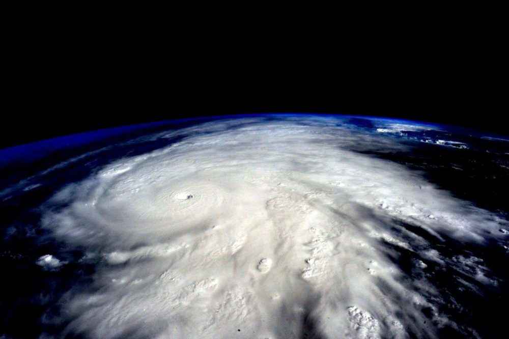 Hurricane Patricia, which made landfall in Mexico last month, is seen from the International Space Station. Meteorologists are expected to provide daily weather forecasts, but they have been reluctant to talk about climate change. (Scott Kelly/NASA via Getty Images)
