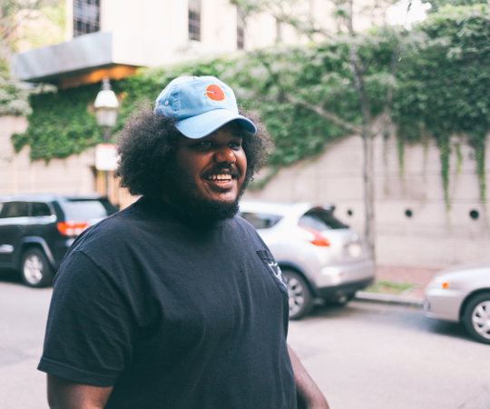 Michael Christmas.Boston Rapper Michael Christmas Grows More Popular And More