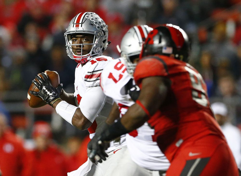 Ohio State sophomore quarterback J.T. Barrett is being suspended for one game due to an OUI charge. That's not the part of his punishment that people are criticizing though. (Rich Schultz /Getty Images)