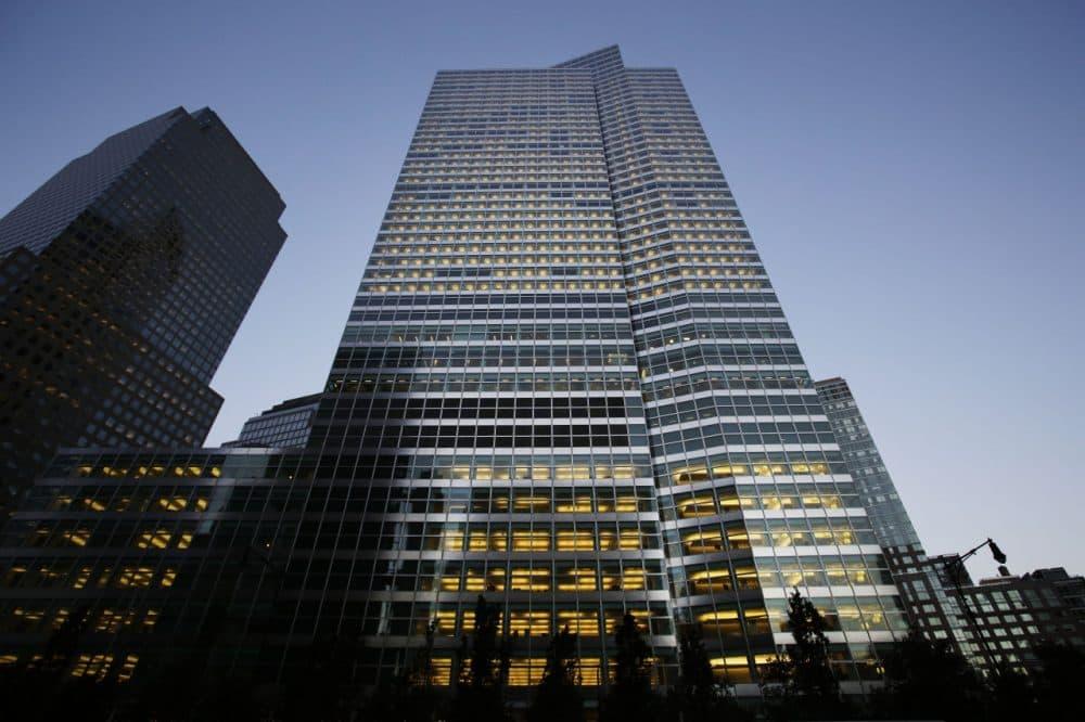 Goldman Sachs headquarters, center, is shown, Thursday, Oct. 15, 2015 in New York. Goldman Sachs recently shut down its BRIC investment fund. (Mark Lennihan/AP Photo)
