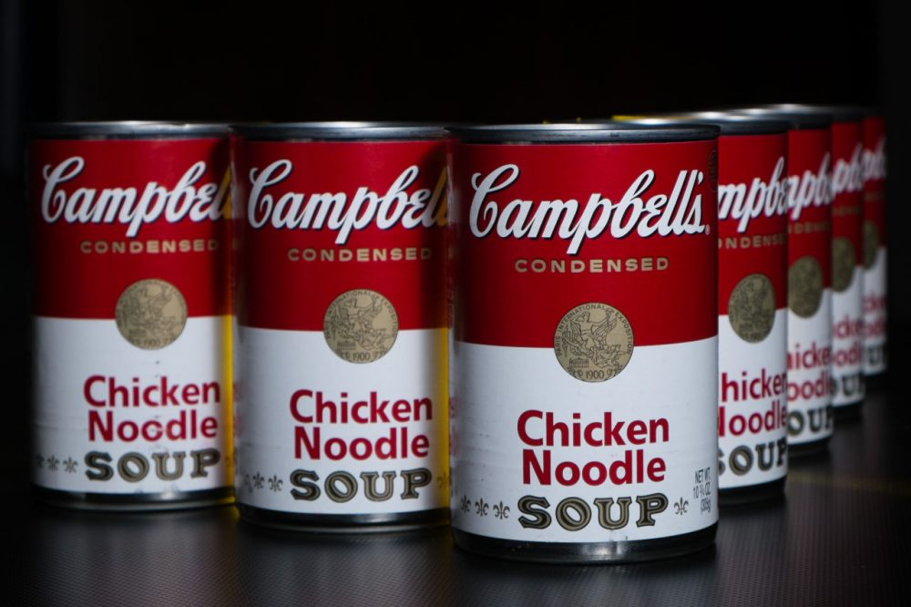 Cans of Campbell's soup are pictured in Washington on Jan. 8, 2014. (J. David Ake/AP)