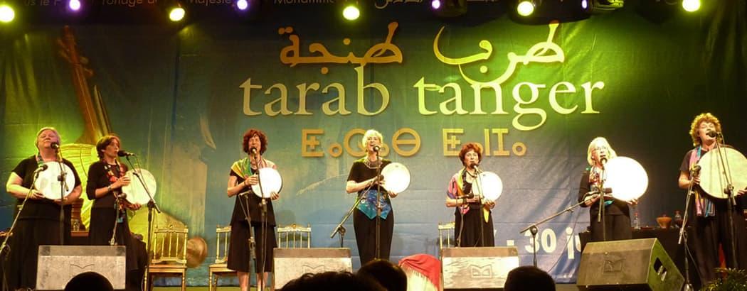 Tarab Tanger Festival in Tangier, Morocco in 2013. (Alan Mattes)