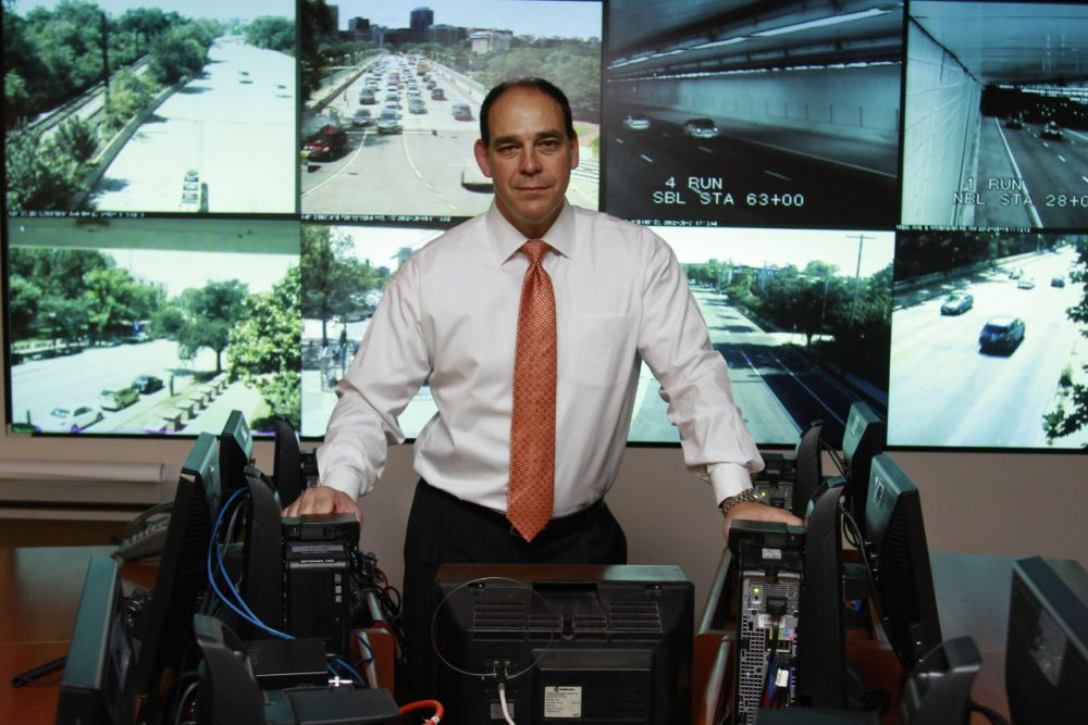 Christopher Geldart, director of the District of Columbia homeland security and emergency management agency, poses for a portrait at the agency's office in Washington, Friday, June 15, 2012. (Jacquelyn Martin/AP Photo)