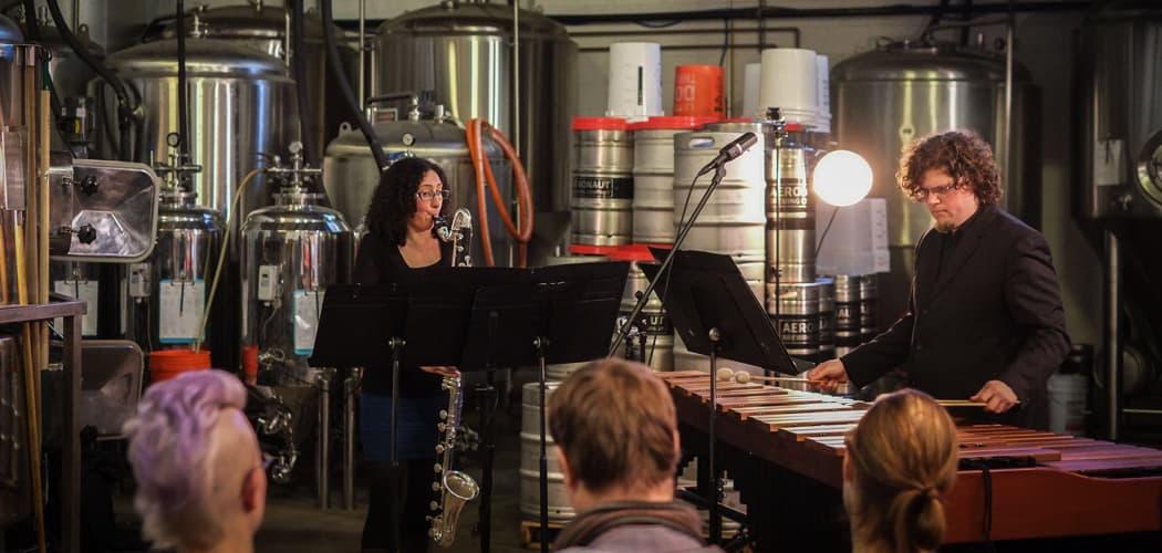 Transient Canvas performing in an earlier Original Gravity Concert Series at Aeronaut Brewing Company. (Scott Kody/Original Gravity)