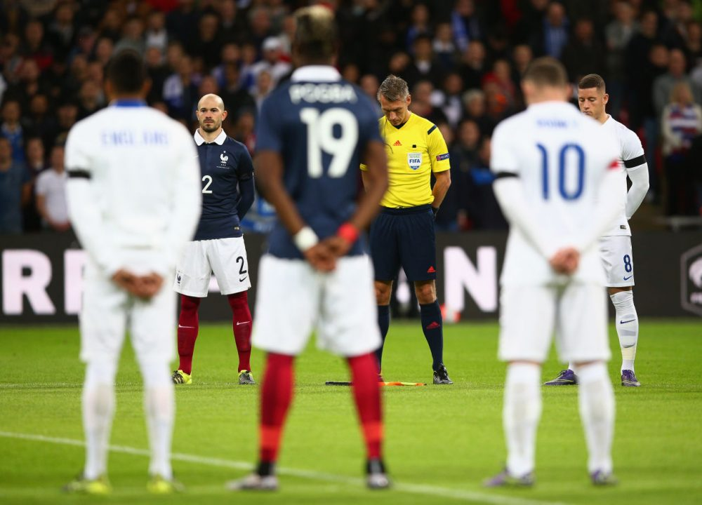during the International Friendly match between England and France at Wembley Stadium on November 17, 2015 in London, England.