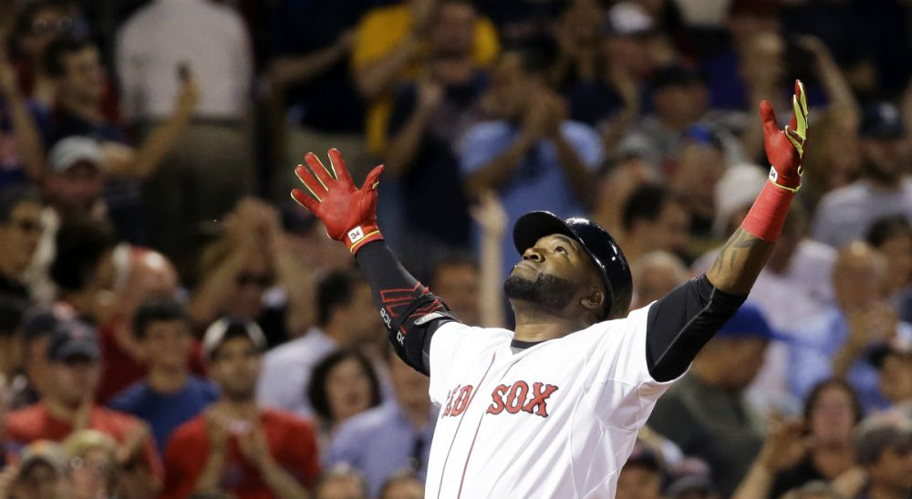 "David Ortiz, pictured here in June 2015, has announced he will retire after the 2016 season. Ortiz ""led, on the field and off. He performed when the stakes were highest. He will leave the city of Boston a better place,"" writes E.M. Swift. (Elise Amendola/ AP)"