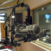 A recording studio at KUOW. (KUOW/Flickr)