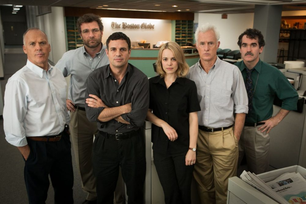 "Film critic Ty Burr is a big fan of the film ""Spotlight,"" and not just because he works at The Boston Globe. (KerryHayes/Open Road Films)"