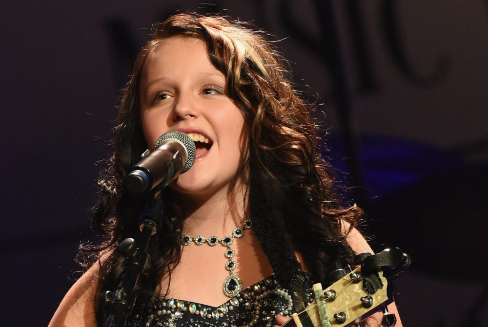 EmiSunshine performs at the Ryman Auditorium on November 8, 2015 in Nashville, Tennessee.  (Rick Diamond/Getty Images)