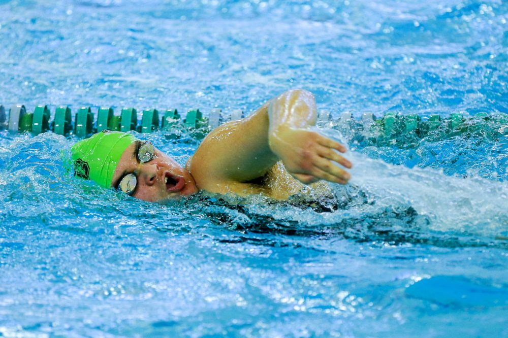 Jay Pulitano swam all four years at Sarah Lawrence. (Jim O'Connor/NJ Sport Pics)