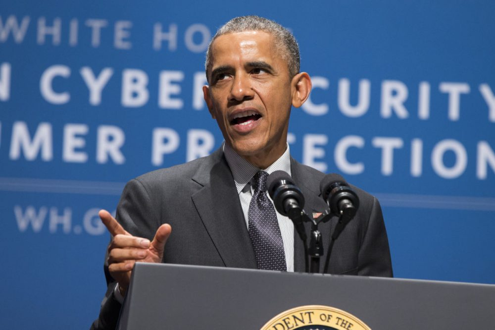 In February, President Barack Obama spoke at a summit on cybersecurity and consumer protection. (Evan Vucci/AP)