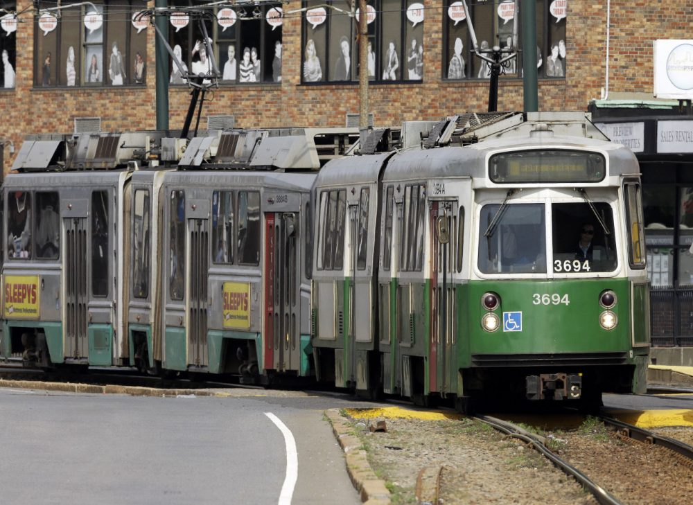 The MBTA's failure to follow best practices on a new contracting process was a large factor in driving up the cost the Green Line extension project, consultants told state transportation officials on Monday. (Steven Senne/AP)