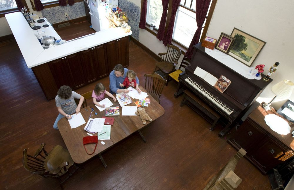The number of families who choose homeschool has been increasing in the U.S., according to 2013 data from National Household Education Survey. Massachusetts families reflect on their own experience with homeschool. (AP Photo/Charlie Neibergall)