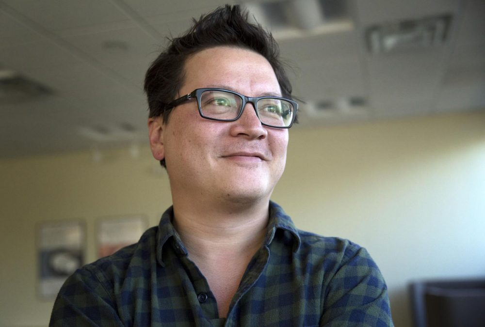 "Kenji López-Alt is managing culinary director of Serious Eats, author of the James Beard Award-nominated column The Food Lab, and a columnist for Cooking Light. His first book is ""The Food Lab: Better Home Cooking Through Science."" (Robin Lubbock/WBUR)"