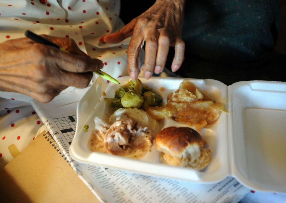 Meals on Wheels, a national home-delivery meals program, has helped some seniors manage their dietary needs as rates of malnutrition among the elderly population rises. (Jeff Gentner/AP)