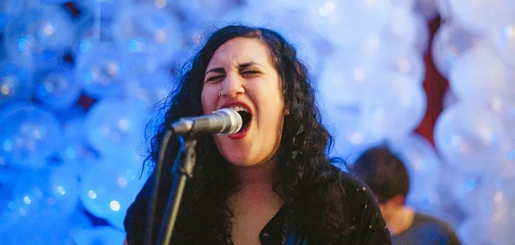 Palehound frontwoman Ellen Kempner. (Luis Ruiz)