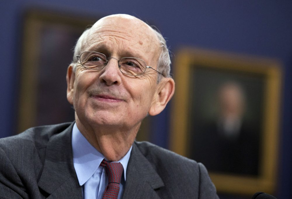 Supreme Court Associate Justice Stephen Breyer testifies before a House Committee in March 2015. (Manuel Balce Ceneta/AP)
