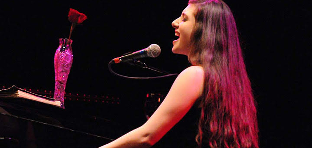 "Kate Ferber in ""One Child Born: The Music of Laura Nyro"" at the Oberon.  (Alex Lowy Photo)"