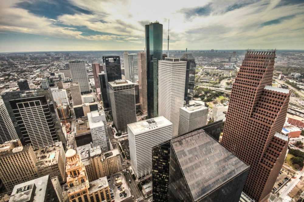 A view of downtown Houston, Texas. (sarath_kuchi/Flickr)
