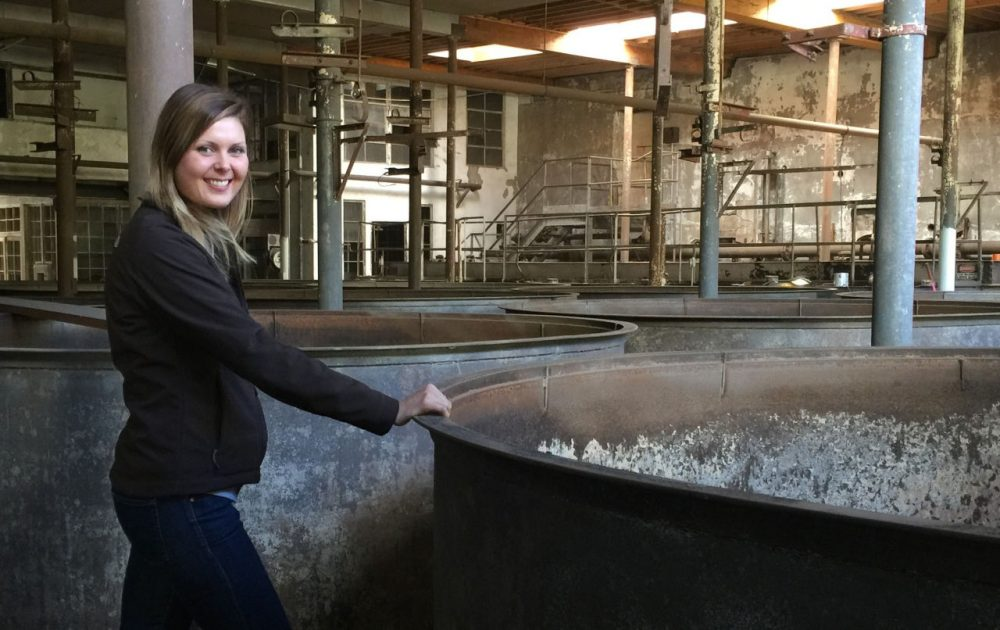Marianne Barnes is the first woman to hold the title of master distiller in modern times. (WFPL)