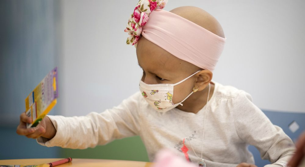 Unless donations are going to support pediatric research, leave the kids out of it. (J Pat Carter/AP)