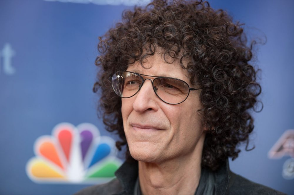 """Howard Stern arrives at the """"America's Got Talent"""" Season 10 Red Carpet Event at New Jersey Performing Arts Center on March 2, 2015 in Newark, New Jersey.  (Dave Kotinsky/Getty Images)"""