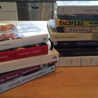 These are some of Kathy Gunst's favorite cookbooks published in 2015. (Kathy Gunst)