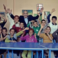 Boubker Mazoz started a neighborhood association and a cultural center in a low-income neighborhood of Casablanca to help to help marginalized kids out of poverty (Courtesy of El Mezzaoui Photography).