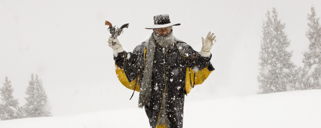 "Samuel L. Jackson in ""The Hateful Eight."" (Courtesy Andrew Cooper/The Weinstein Company)"