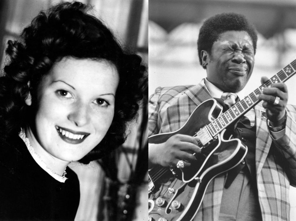 Maureen O'Hara and BB King were among the people who died in 2015. (Getty Images)